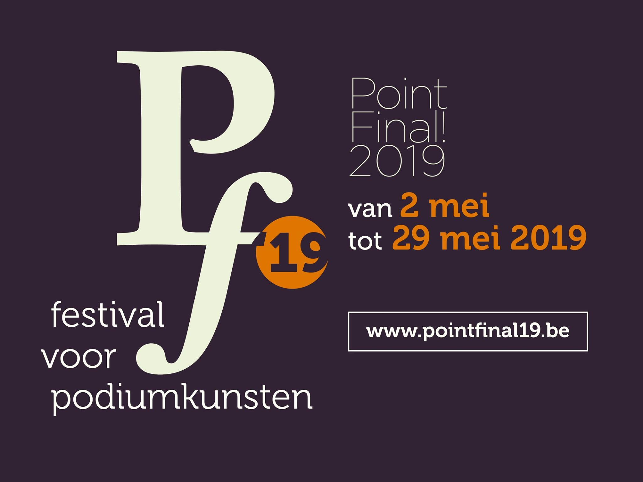 Point Final 2019 bij STAP Roeelare